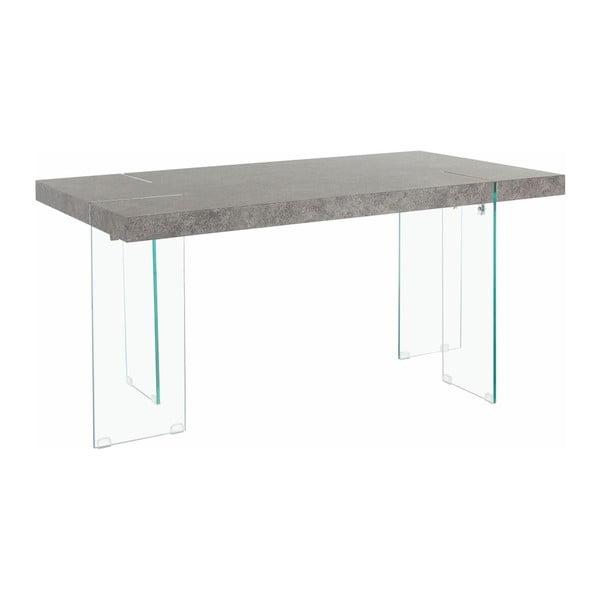 Stół do jadalni z szarym blatem Støraa Triton
