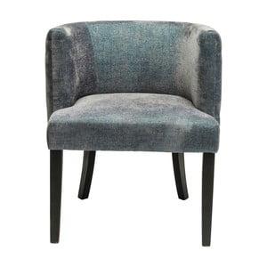 Ciemnoniebieskie krzesło Kare Design Theater