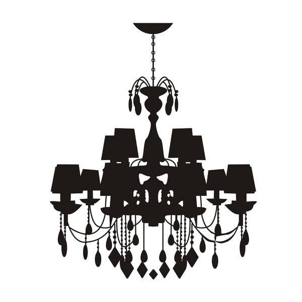 Naklejka dekoracyjna Castle Lamp, 80x80 cm