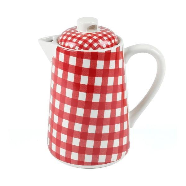 Dzbanek na herbatę, 1,5 l, czerwony