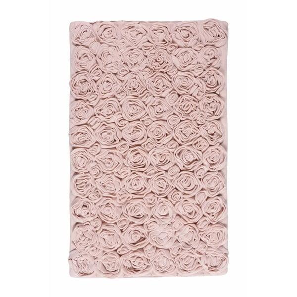 Różowy dywanik łazienkowy Aquanova Rose, 60x100 cm
