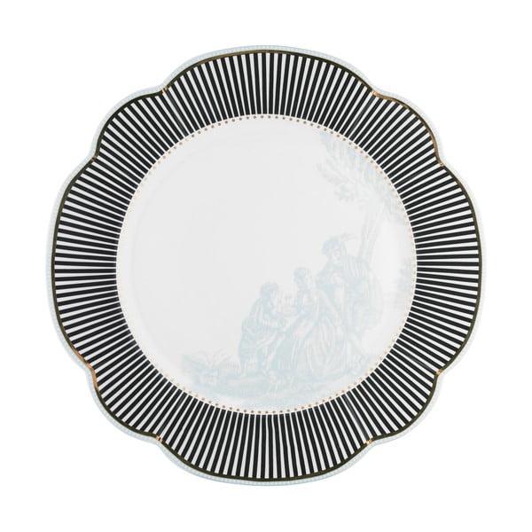 Porcelanowy talerz Toile Lisbeth Dahl, 29 cm, 2 szt.