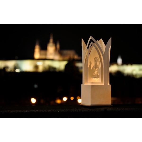 Świecznik MooDoo Design Stajenka, 31 cm
