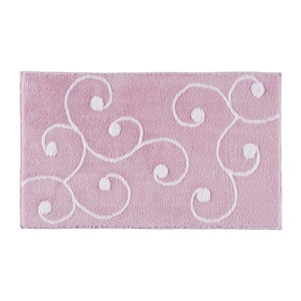 Dywanik łazienkowy Smirna Pink, 60x100 cm