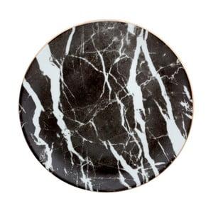 Talerz porcelanowy Vivas Marble, Ø 28 cm