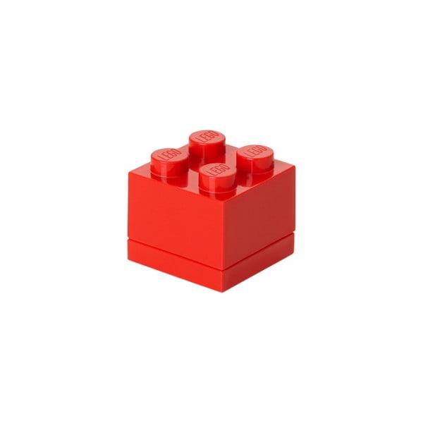 Czerwony pojemnik LEGO® Mini Box