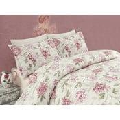 Różowa pościel dwuosobowa Care Pink, 200x220 cm