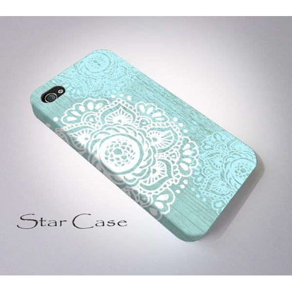 Etui na iPhone 6 Floral Blue