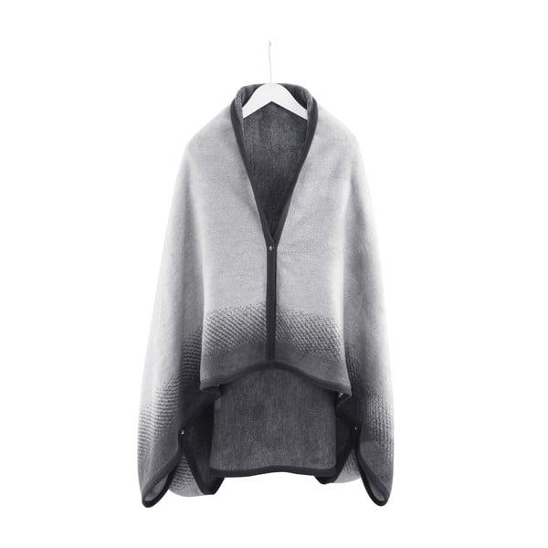 Poncho/Koc Black Pearl, 110x170 cm