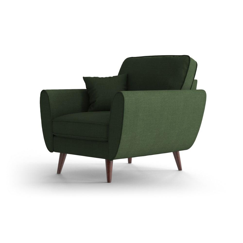 Zielony fotel My Pop Design Auteuil