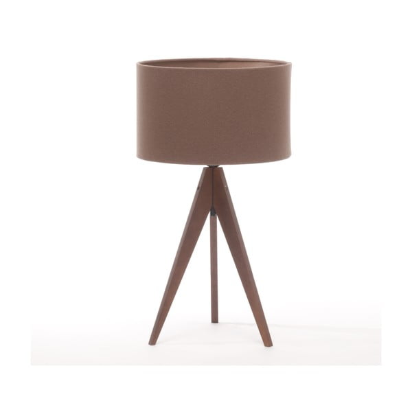 Lampa stołowa Artist Dark Taupe/Dark Brown