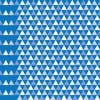 Tapeta Triangles Blue