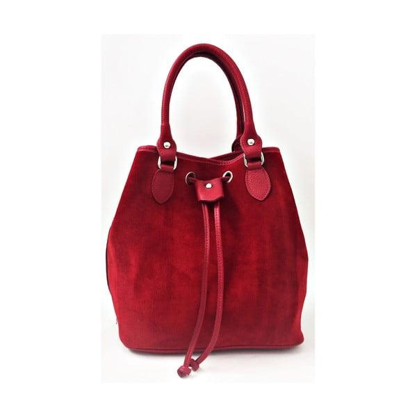 Skórzana torebka Sea Red