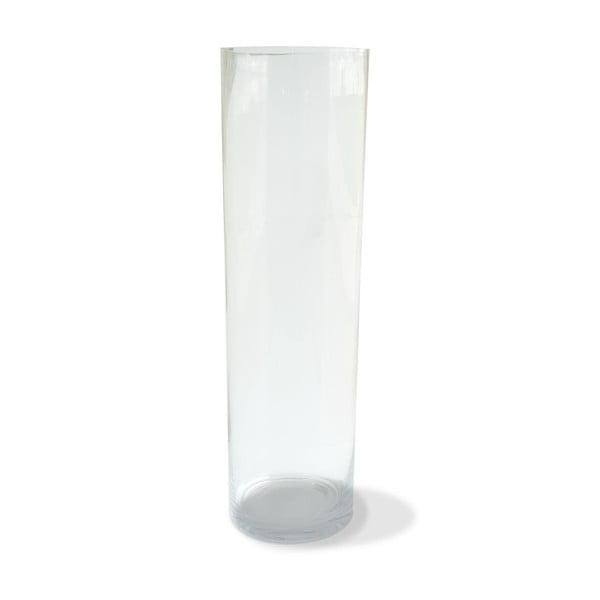 Waza Glass Vase, 14x50 cm
