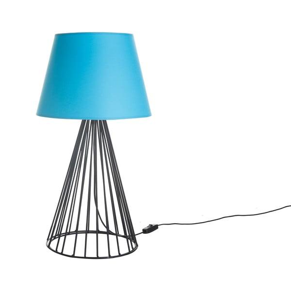 Lampa stołowa Wiry Blue/Black