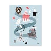 Plakat Michelle Carlslund Circus Friends, 30x40cm