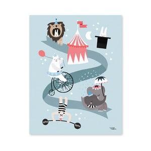 Plakat Michelle Carlslund Circus Friends, 50x70cm