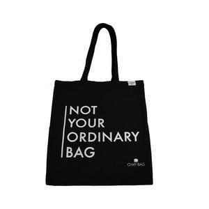 Torba bawełniana O My Bag Not Your Ordinary, czarna
