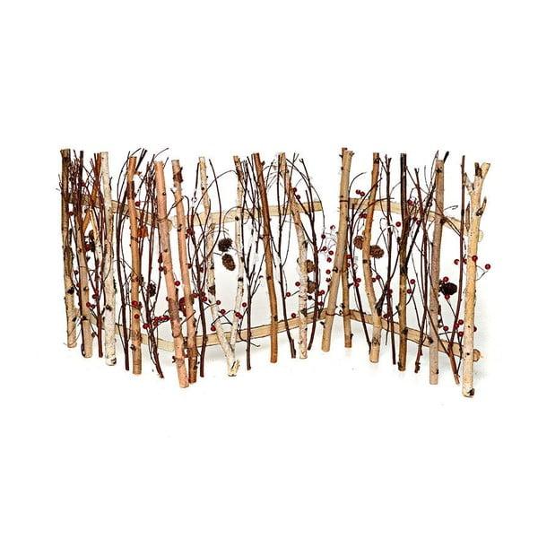 Płotek drewniany Pinecone, 120x49 cm