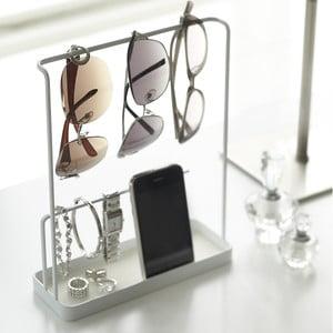 Biały stojak na biżuterię i okulary YAMAZAKI Tower