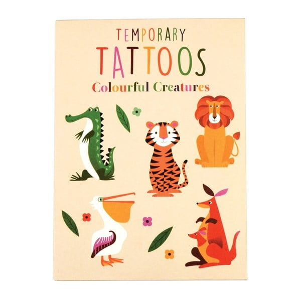 Tatuaże zmywalne Rex London Colourful Creatures