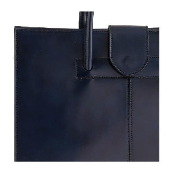 Niebieska torebka skórzana Ore Diece Bari