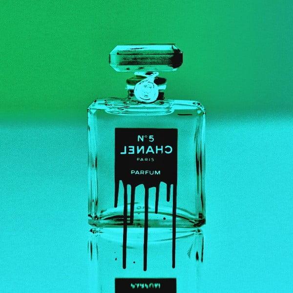 Obraz Icon in a Bottle Green, 61x61 cm