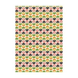 Zestaw 25 arkuszy papieru dekoracyjnego Rex London Tulip Bloom