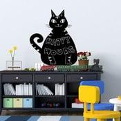 Naklejka/tablica Kot
