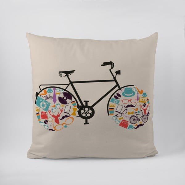 Poduszka Hipster Bike