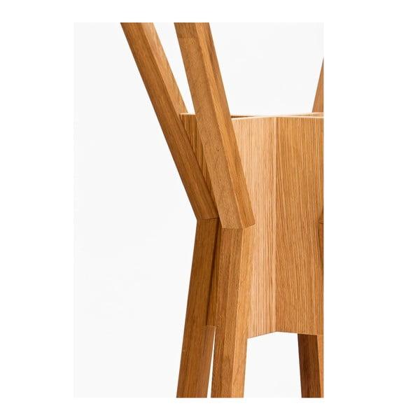 Stojący wieszak drewniany Woodman Magellan