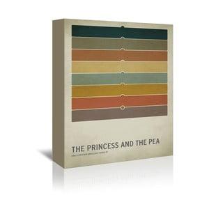 Obraz na płótnie Princess Pea With Text
