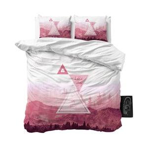 Dwuosobowa pościel z mikroperkalu Sleeptime Let's Stay, 200x220 cm