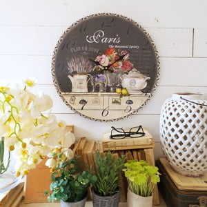 Zegar ścienny Orchidea Paris