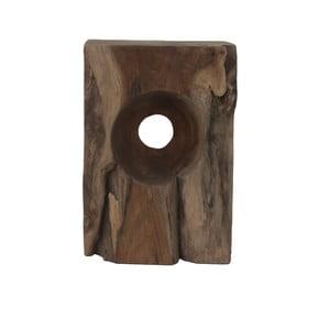 Stolik z drewna tekowego HSM Collection Hollow