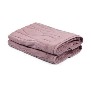 Zestaw 2 jasnoróżowych ręczników ze 100% bawełny Gartex, 50x75 cm