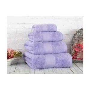 Fioletowy ręcznik Irya Home Coresoft, 30x50 cm