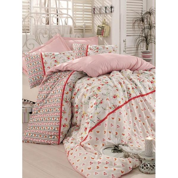 Beżowa narzuta na łóżko Love Colors Emma, 200 x 240 cm