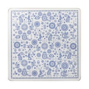 Zestaw 4 mat stołowych Penzace Blue, 29x29 cm