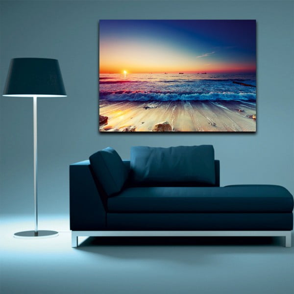Obraz Tropical Paradise Sunset, 100 x 70 cm