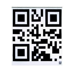 Zasłona prysznicowa Flash Code, 200x180 cm