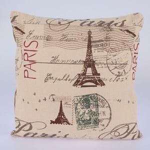 Poszewka na poduszkę In Beige Paris, 45x45 cm