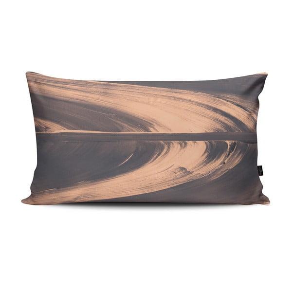 Poduszka Elidvide Grey Pink, 47x28 cm