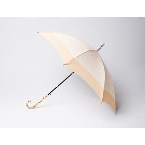 Parasol Houndstooth, beżowy