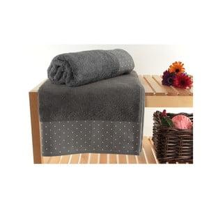 Zestaw 2 ręczników Patricik Grey, 90x150 cm