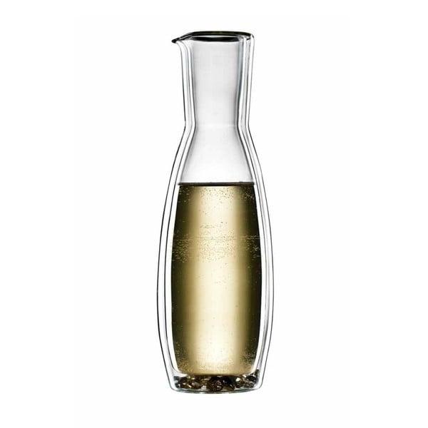 Duża   szklana karafka bloomix