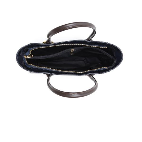 Skórzana torebka Cuco, granatowa