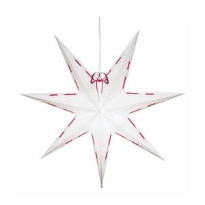 Świecąca gwiazda ze stojakiem Vira Snow, 60 cm