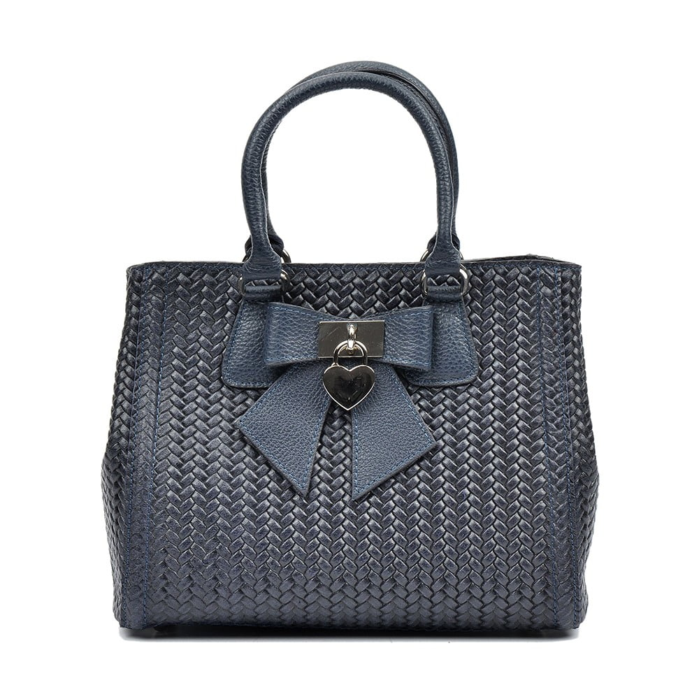Czarna skórzana torebka Luisa Vannini Maria | Bonami