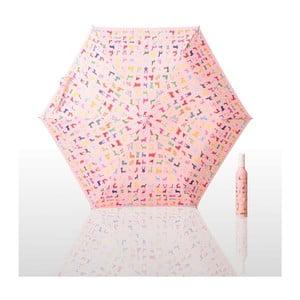 Parasol składany John HO, różowy